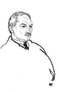 August Lederer 1918 von Egon Schiele