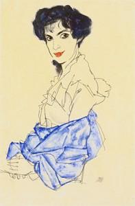 Elisabeth Lederer 1913 von Egon Schiele