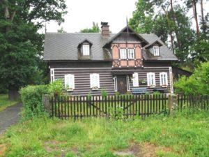 """""""Klaraheim"""", ein schön restauriertes nordböhmisches Umgebindehaus in Glasert"""
