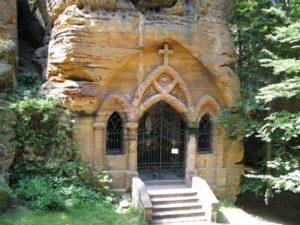 Felsenkapelle im Betgraben von Schwoika