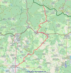 Weg der Vertreibung - Karte